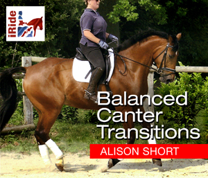 Balanced Canter Transitions (Alison Short)