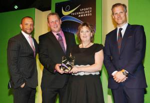 Alison & Simon at the Sport Technology Awards 2014